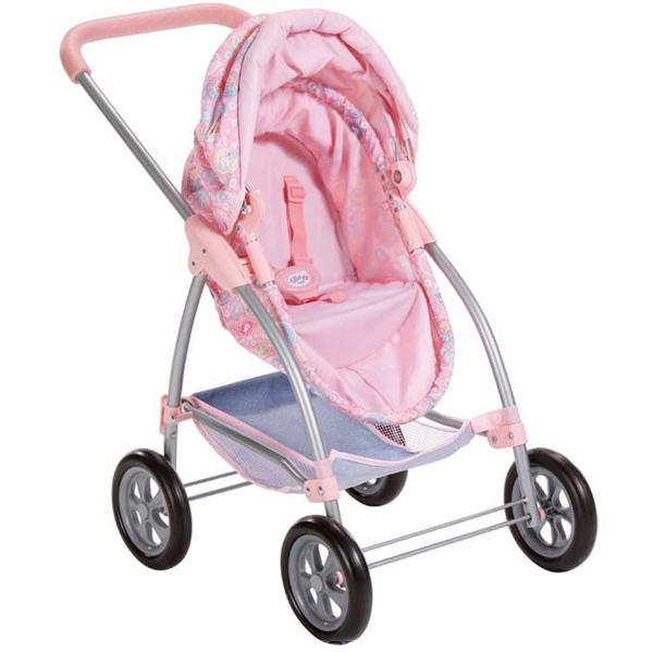 """Коляска Baby born  """"Люлька-прогулочная коляска """" 2-в-1 (для кукол до 43 см..."""