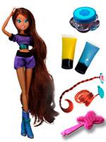 Винкс красить волосы