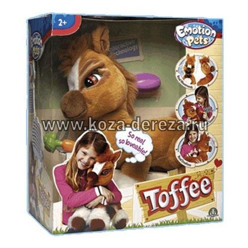 Интерактивная игрушка пони тоффи арт