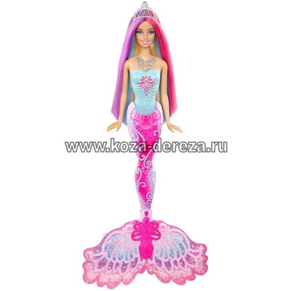 барби-русалочка , которая меняет цвет под водой.